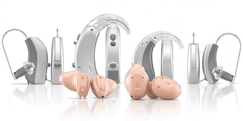 Various Kinds of Hearing Aids.