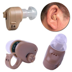 Parts of Invisible Hearing Aid.